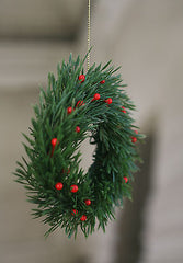 Christmas Tree Garland Festive Hanging Tree Decoration Gift Homewares 15cms