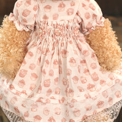Teddy Bear 'Tayla' Settler Bears Handmade Cupcake Dress Collectable 38cms NEW