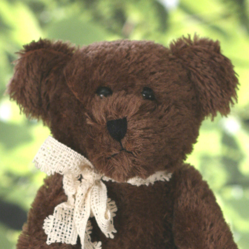 Teddy Bear 'Ryan' Settler Bears Handmade Collectable Boy Genuine Mohair 25cms