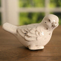 Bird Antique Style Ceramic French Provincal 14cms