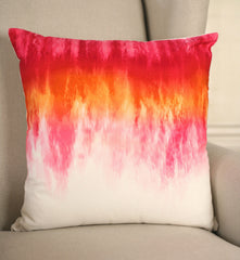 Decorator Cushion 45x45cms Vibrant Ombre Throw Pillow