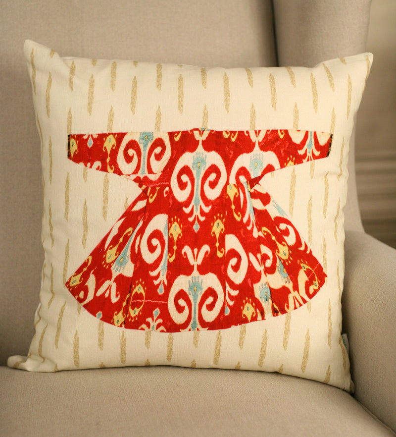Cushion Cover Decorator 45x45cms Contemporary Dress Throw Pillow Cover NEW