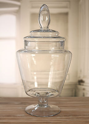 Glass Jar Table Centre Lolly Buffet Apothecary 2 Sizes Available (Large)