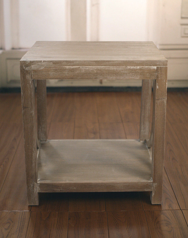 Lamp Table French Provincial White Wash Side Tables Bedside Tables Furniture