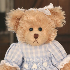 Teddy Bear 'Liana' Settler Bears Handmade Collectable Dressed Gift 38cms