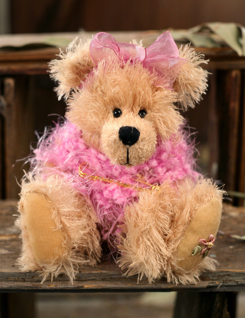 Teddy Bear 'Amy' Settler Bears Handmade Collectable Gift 25cms NEW