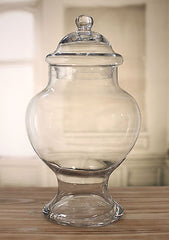 Glass Jar Table Centre Lolly Buffet Apothecary Homewares Gift 42cms NEW