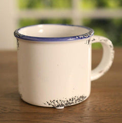 Rustic Decorative / Bathroom Mug Home Decor