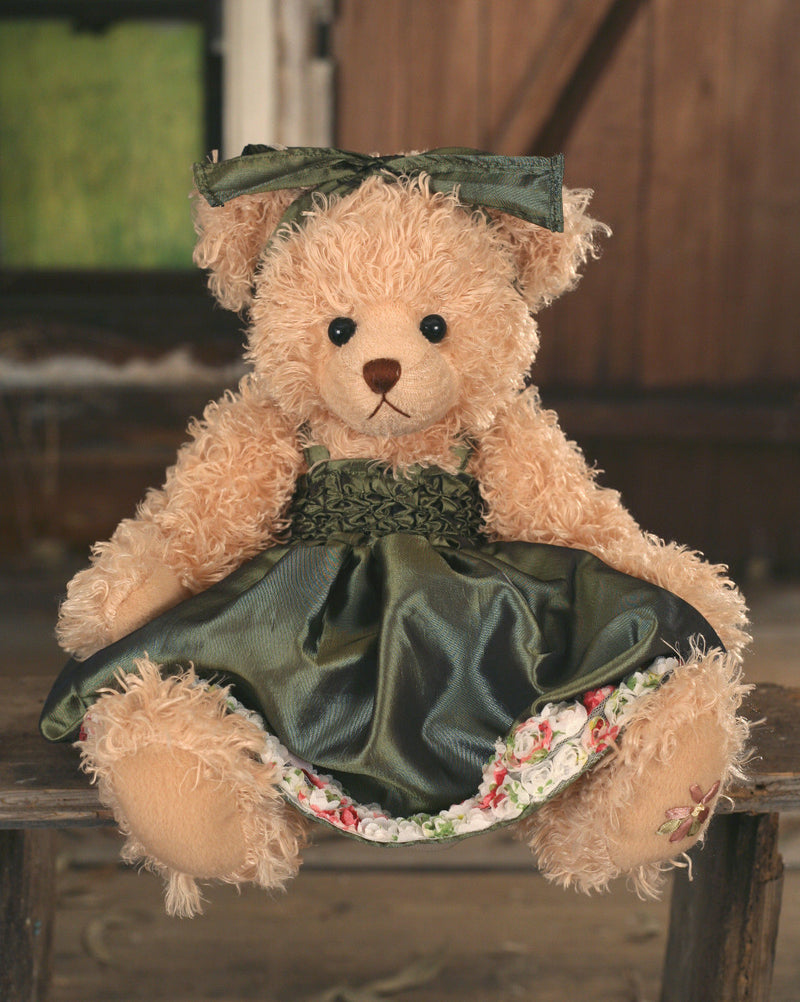 Teddy Bear 'Primrose' Settler Bears Handmade Dressed Collectable Gift Decor 43cm