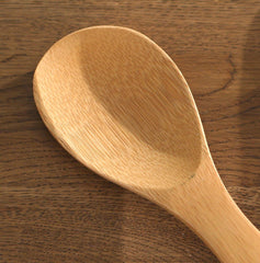 Bamboo Kitchen Utensils Spoon Spatula Cooking Spoon