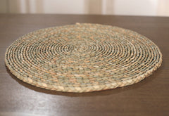 Woven Placemat Handmade Thick Weave French Provincial Dinner Party 40cms Round
