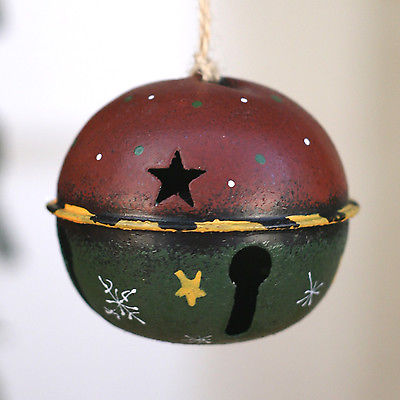 Christmas Tree Ornament Festive Hanging metal Ball Tree Decoration 6cms