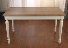 Dining Table 240x120cm Huge French Provincial Country Style USA Oak Dining Table