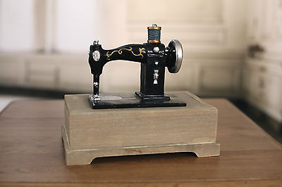 Decor Sewing Machine Jewellery Trinket Box
