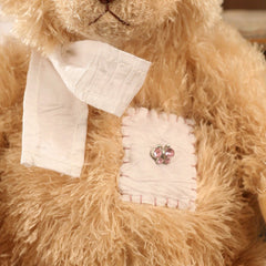 Teddy Bear 'Cassidy' Handmade Settler Bears Gift Soft Fur Collectable 35cms NEW
