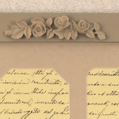 Multi Photo Frame Home Decor Wall Art Resin Roses Antiqued 50cms NEW