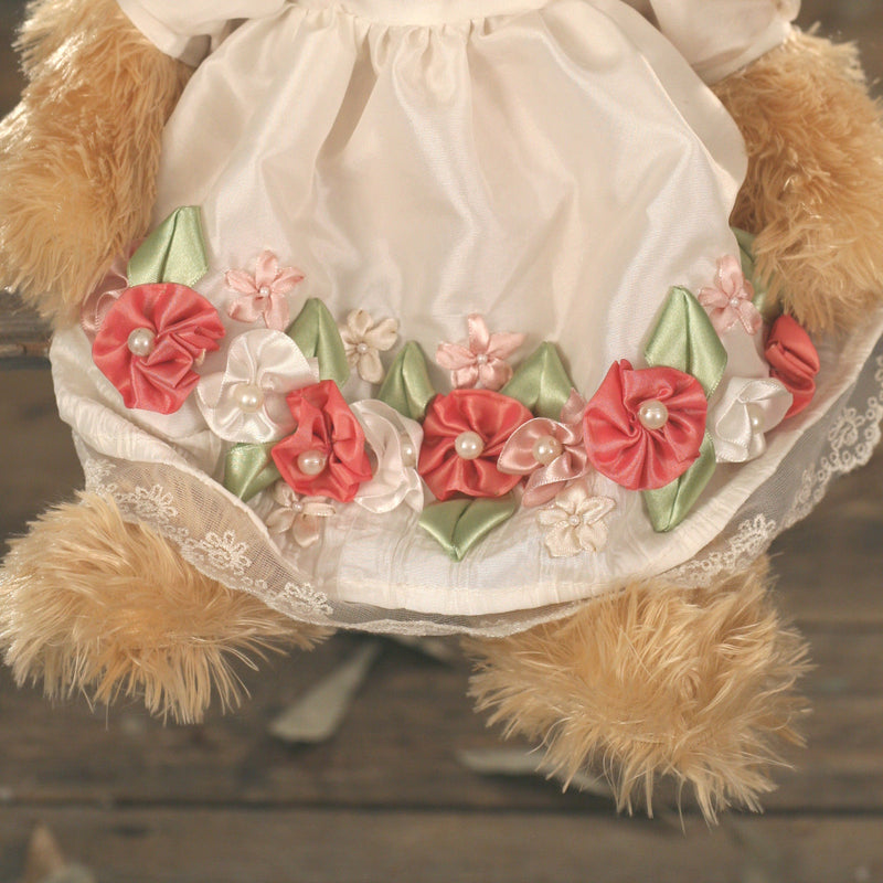 Teddy Bear 'Tracey' Settler Bears Handmade Collectable Dress Gift 38cms NEW
