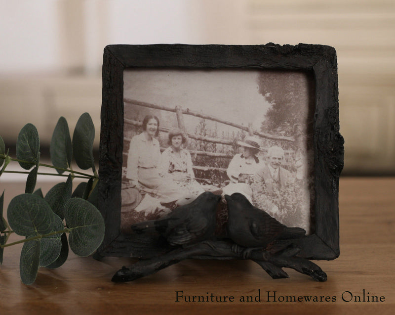 Antique Style Bird Photo Frame Home Decor Gift 5x6in Size BRAND NEW