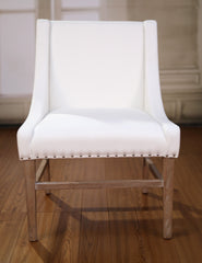 -Floor Stock- Dining Chair Hamptons Hardwood Bedroom White