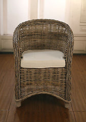Alfresco Kids Size Chair Dining Chair 'Kubu' Weave Outdoor Chair BRAND NEW