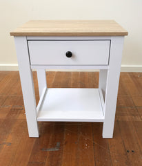 Bedside Table French Provincial 1 Drawer