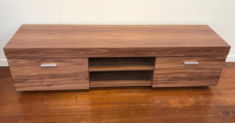 Entertainment TV Unit Timber Look Media Unit