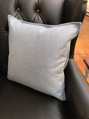 Linen Cushion Filled 50x50 - French Blue