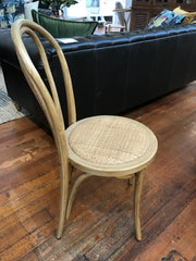 Dining Chair Oak Bentwood with Padded Top