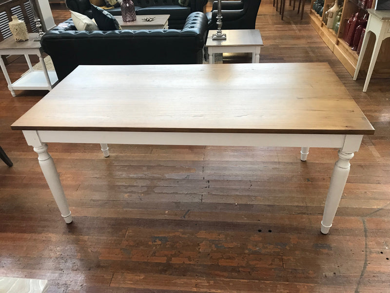 7 Piece Setting Dining Table 'Newport' 180x90
