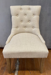 Roche Dining Chair Natural Hardwood Hamptons