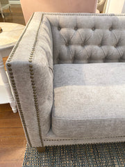 Beaumont 2 Seater Sofa Oak Hardwood Lounge