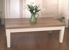 Orleans Large Coffee Table Oak top 140x80