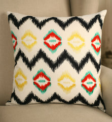 Decorator Cushion 45x45cms - 'Contemporary Auca' Throw Pillow