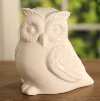 Owl Home Decor Ceramic Piece 15cms