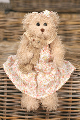 Teddy Bear 'Mary & Soda' Settler Bears Handmade Collectable Gift 30cms NEW
