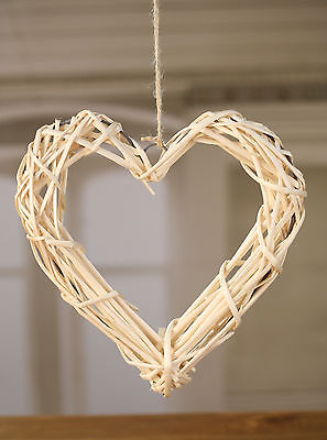 Hanging Weighted Patterened Heart Home Decor Hanger BRAND NEW. 2 Sizes