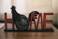Country Chook Home Sign Country Style Home Decor Gift 37cms BRAND NEW