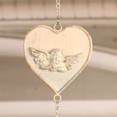 Rustic Hanging Heart Home Decor Hanger 110cms