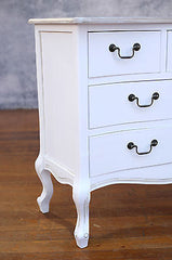 Chest of Drawers French Provincial 6 Drawer Antique Top Dresser Storage Unit