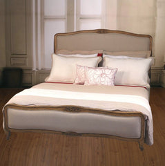Country Linen Full King Size Bed USA Oak Linen
