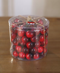 Artificial Cherries Tub Fake Fruit Faux Food Home Decor Kitchen Party