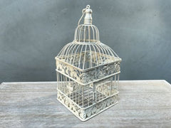 Set 2 x Bird Cages Home Decor Wedding Wishing Well Birdcages