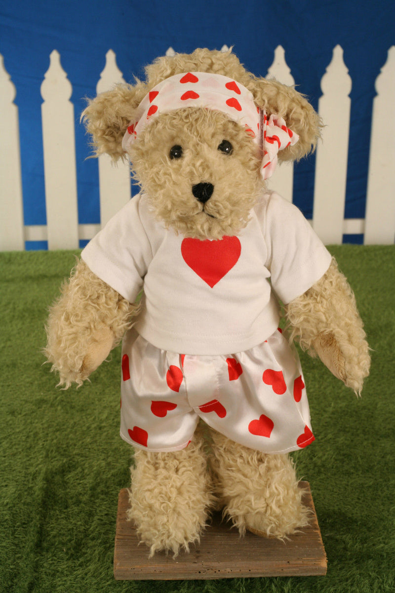 Uncle Beans Bears 'Bridget' Handmade Jointed Legs Soft Teddy Bear Gift 42cms NEW
