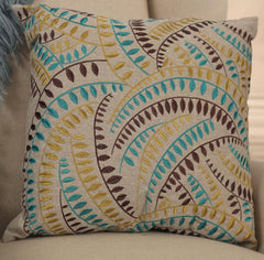 Cushion 'Winter Vines' Decorator Throw Pillow