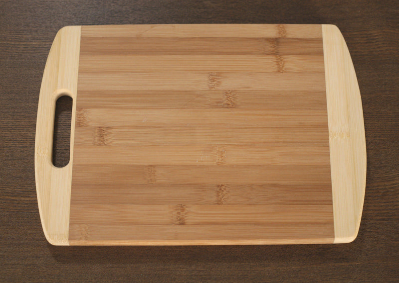 Bamboo Chopping Board Paddle Natural Eco Friendly Serveware Kitchenware 24cms
