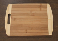 Bamboo Chopping Board Paddle Natural Eco Friendly Serveware Kitchenware 40cms