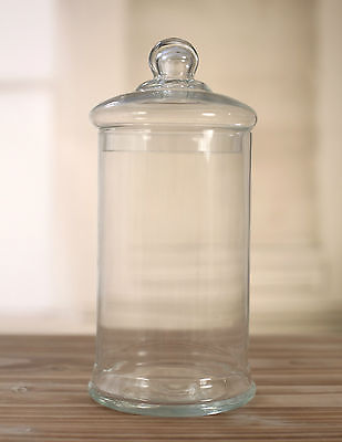 Lolly Buffet Glass Apothecary Jar Home Decor Gift 25cms BRAND NEW