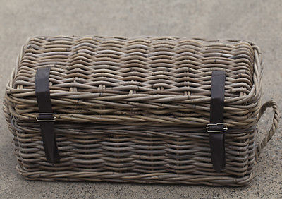 Storage Chest Small Kubu Cane French Provincial Style Homewares 54cms BRAND NEW