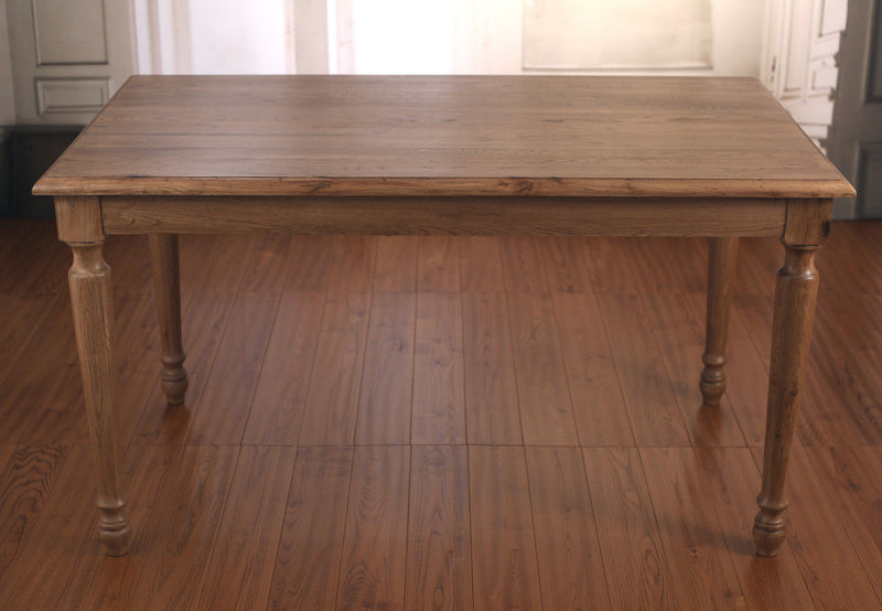 Brittany Dining Table 140x80cm French Provincial Oak Classic
