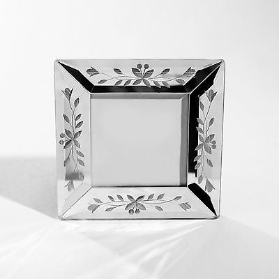 Venetian Photo Frame Home Decor 2.5in Photo Size 2 Shapes to Choose From (Square)